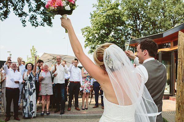 Huwelijksfeest Thomas en Marleen
